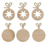 Kaiser - Wood Flourish - Mini Baubles