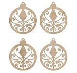 Kaiser - Wood Flourish - Mini Ornaments