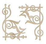 KaiserCraft - Wood Flourishes - Ornate Corners