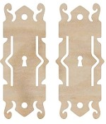 Kaiser Craft - Wood Flourish - Decorative Lock