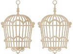 Kaiser Craft - Wood Flourish - Hanging Birdcage