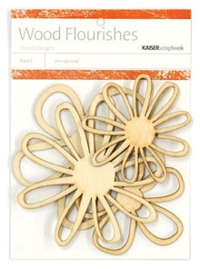 Kaiser wood flourish - Blossoms