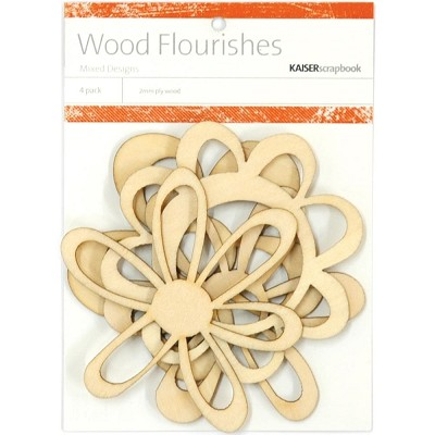 Kaiser wood flourish - Retro Flowers