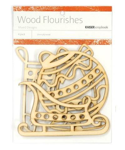 Kaiser wood flourish - Christmas Mix
