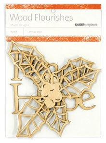 Kaiser wood flourish - Peace