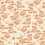 K & Co. Engraved Garden Toile Fabric Paper