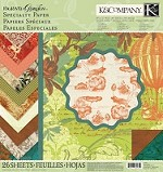 K & Co. Engraved Garden Specialty Paper Pad