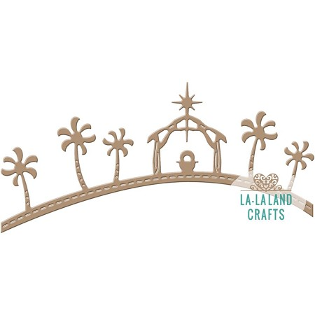 La-La Land Crafts - Die - Manger Border