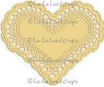 La-La Land Crafts - Die - Heart Doily