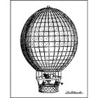 LaBlanche Silicone Stamp - Hot Air Balloon