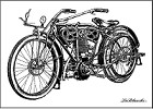 LaBlanche - Silicone Stamp - Motorcycle