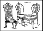 LaBlanche - Silicone Stamp - Chairs