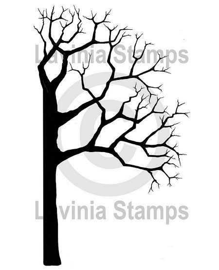 Lavinia Stamps - Clear Stamp - Tree Half Right