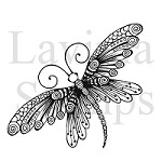 Lavinia Stamps - Clear Stamp - Zen Butterfly