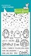 Lawn Fawn - Clear Stamps - Snow Cool