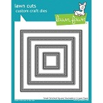 Lawn Fawn - Die - Small Stitched Squares