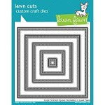 Lawn Fawn - Die - Large Stitched Squares
