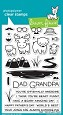 **PRE-ORDER**  Lawn Fawn - Clear Stamps - Dad + Me