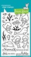 **PRE-ORDER**  Lawn Fawn - Clear Stamps - Mermaid For You