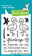 **PRE-ORDER**  Lawn Fawn - Clear Stamps - Flamingo Together