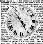 Magenta-Cling Stamp-Clock & Definition