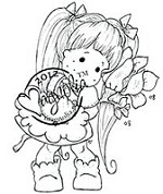 Magnolia - Cling Mounted Rubber Stamp - Tilda with Love
