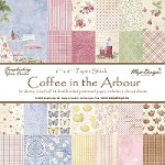 "Maja Design - Coffee In the Arbour Collection - 6""x6"" paper stack"