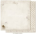 "Maja Design - Vintage Baby Collection - 12""x12"" Double Sided Cardstock - Expecting"