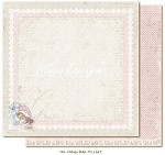 "Maja Design - Vintage Baby Collection - 12""x12"" Double Sided Cardstock - It's a girl"