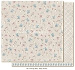 "Maja Design - Vintage Baby Collection - 12""x12"" Double Sided Cardstock - Baby Shower"