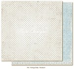 "Maja Design - Vintage Baby Collection - 12""x12"" Double Sided Cardstock - Newborn"