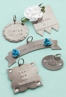 Making Memories - Embossed Charms - Friends