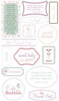 Making Memories - Pitter Patter Collection - Stickers - Quote Sophie