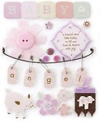 Making Memories - Pitter Patter Collection - Stickers - Sophie Tags