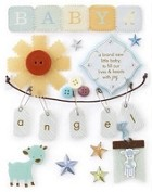 Making Memories - Pitter Patter Collection - Stickers - Oliver Tags