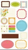 Making Memories - Journaling Stickers - Whimsy