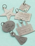 Making Memories - Embossed Charms - Birthday