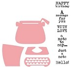 Marianne Design - Die - Collectables - Eline's Typewriter