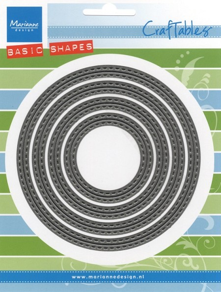 Marianne Design - Craftables Die - Stitched Basic Circles