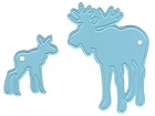 Marianne Design - Creatables Die - Moose and baby