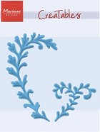 Marianne Design - Creatables Die - Mistletoe Twigs/Christmas Leaves