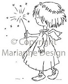 Marianne Design - Clear Stamp - Don & Daisy - Little Angel