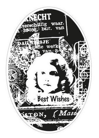 Marianne Design - Cling Rubber Stamp - Vintage Collage ...