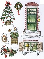 Marianne Design - Clear Stamp - Don & Daisy - Theme Winter Time