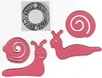 Marianne - Collectables Die - Snail (with clear stamp)