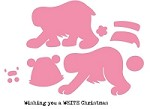 Marianne - Collectables Die - Eline's Polar Bear (with clear stamp)
