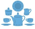 Marianne Design - Creatables Die - Tea for Two
