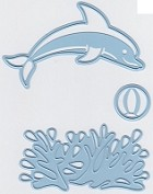 Marianne Design - Creatables Die - Dolphin (set of 3 dies)