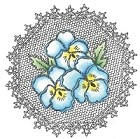 Marianne Design - Cling Stamp - Pansies