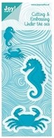Joy Crafts - Die - Cutting & Embossing - Under The Sea - Crab & Seahorse